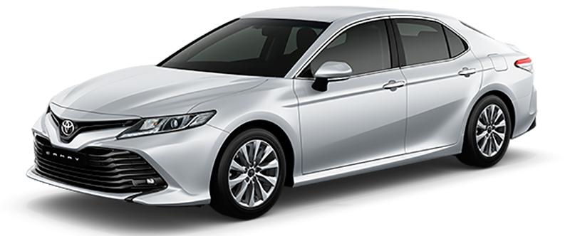 Toyota Camry Màu Bạc