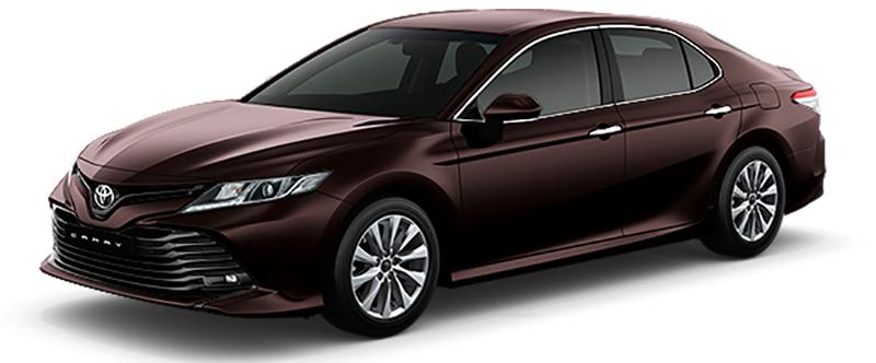 Toyota Camry Màu Nâu