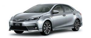Toyota Corolla Altis Bảng Giá Xe
