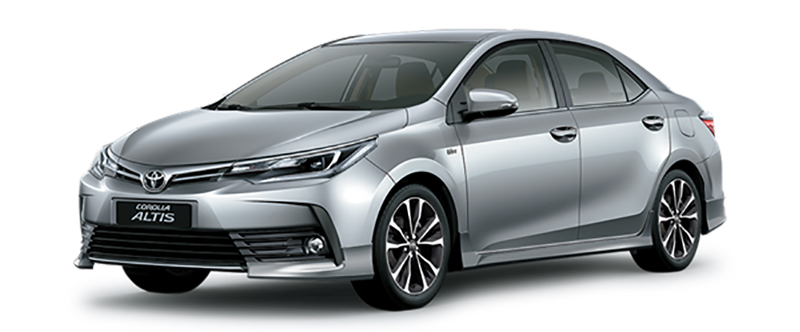 Toyota Corolla Altis Màu Bạc
