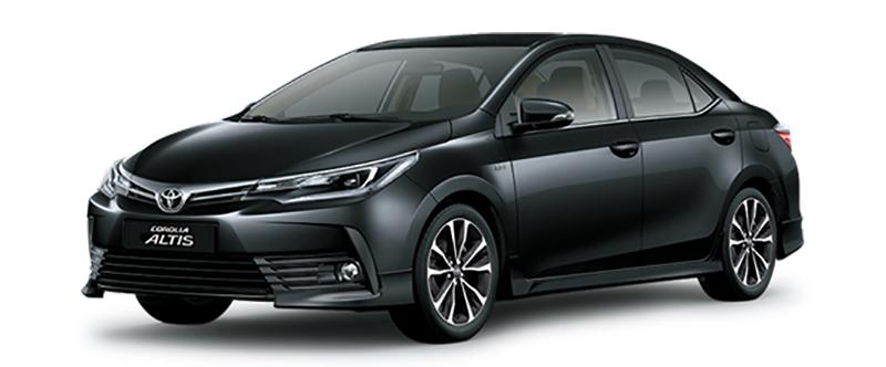 Toyota Corolla Altis Màu Đen