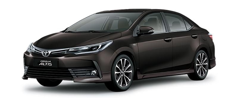 Toyota Corolla Altis Màu Nâu