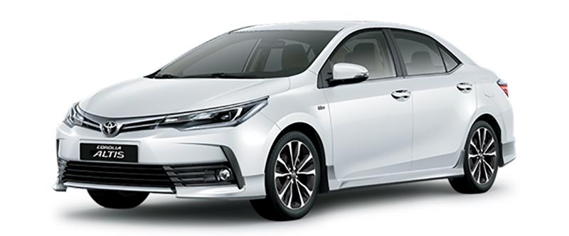 Toyota Corolla Altis Màu Trắng