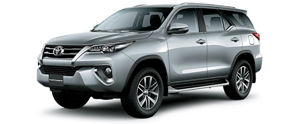 Toyota Fortuner Màu Bạc