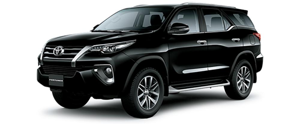Toyota Fortuner Màu Đen