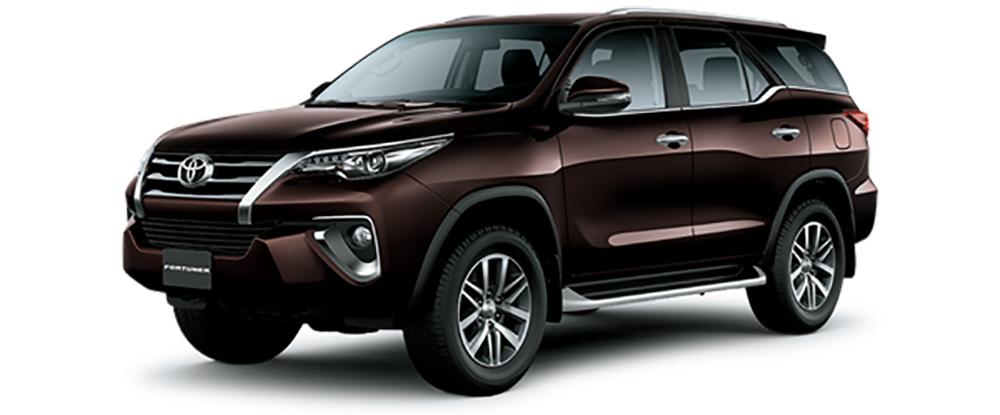 Toyota Fortuner Màu Nâu