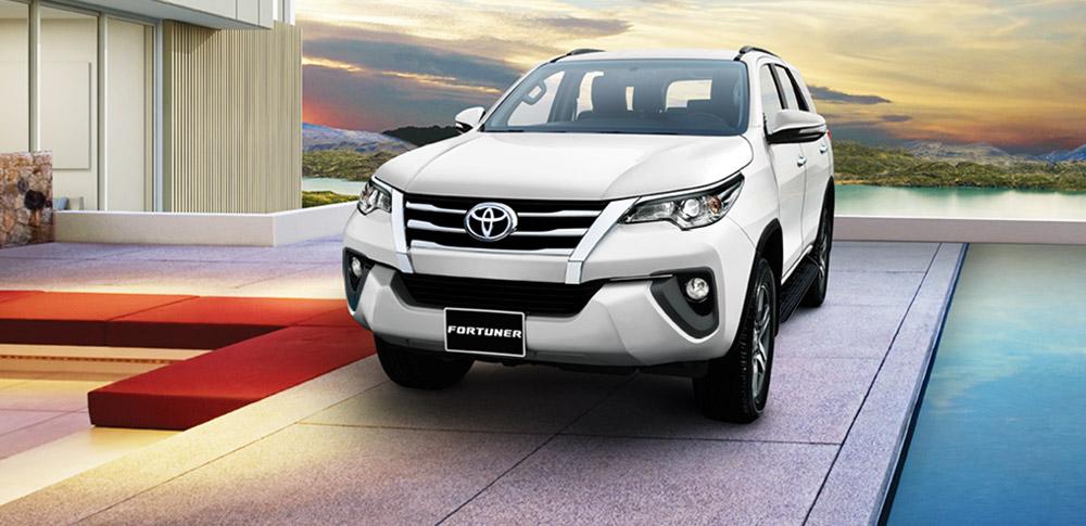 Toyota Fortuner Ngoại Thất