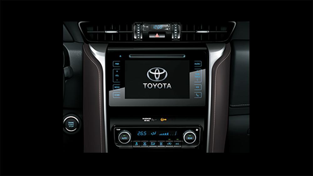 Toyota Fortuner Nội Thất 4