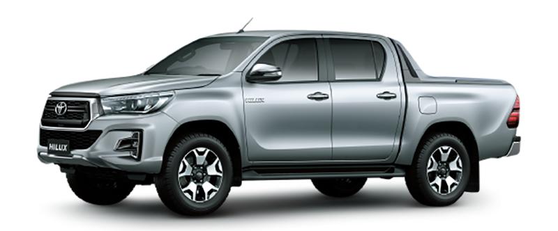 Toyota Hilux Màu Bạc
