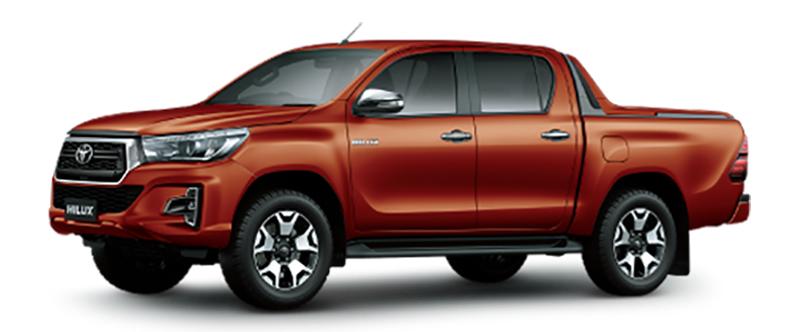 Toyota Hilux Màu Cam
