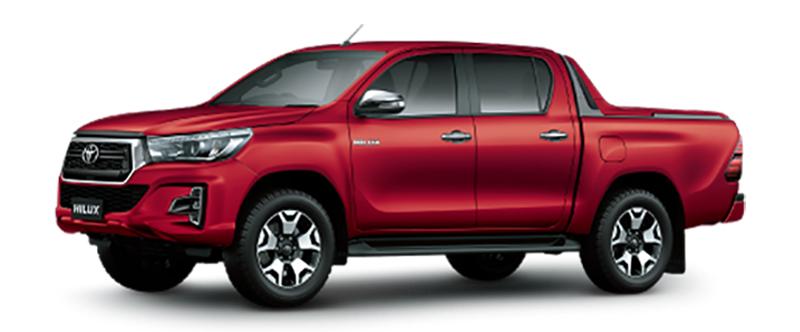 Toyota Hilux Màu Đỏ