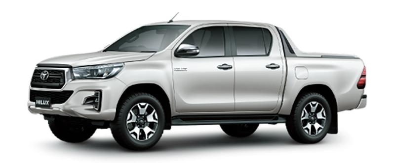 Toyota Hilux Màu Trắng Ngọc Trai