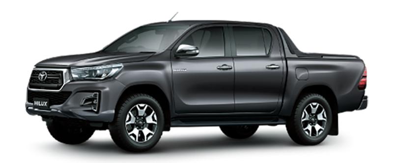 Toyota Hilux Màu Xám