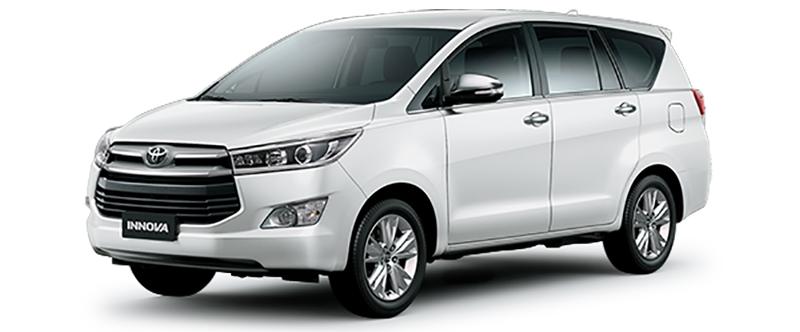 Toyota Innova Màu Trắng Ngọc Trai