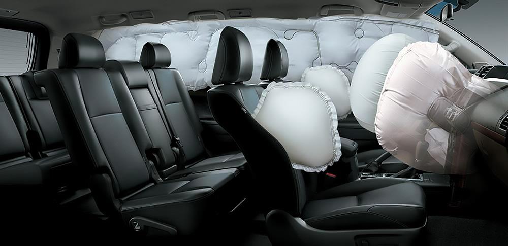 Hệ thống tui khí trên xe