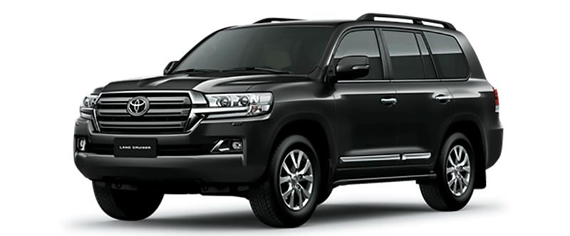 Toyota Land Cruiser Màu Đen