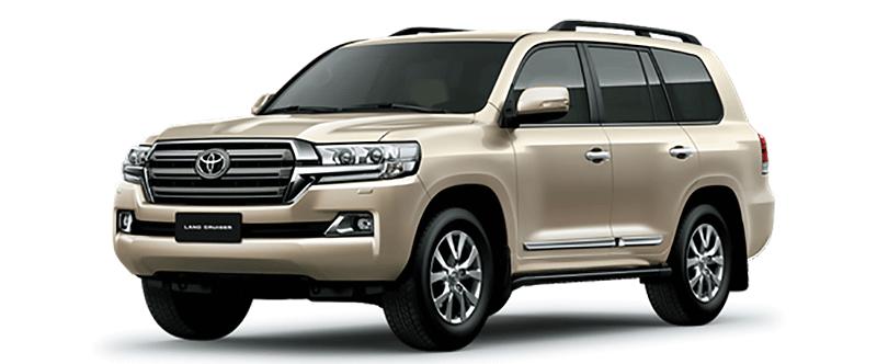 Toyota Land Cruiser Màu Vàng