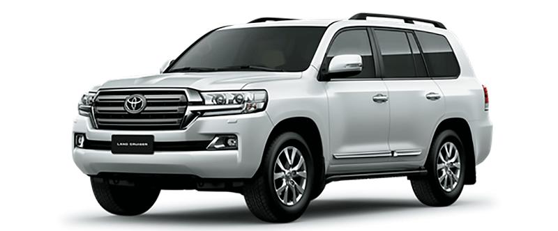 Toyota Land Cruiser Màu Trắng