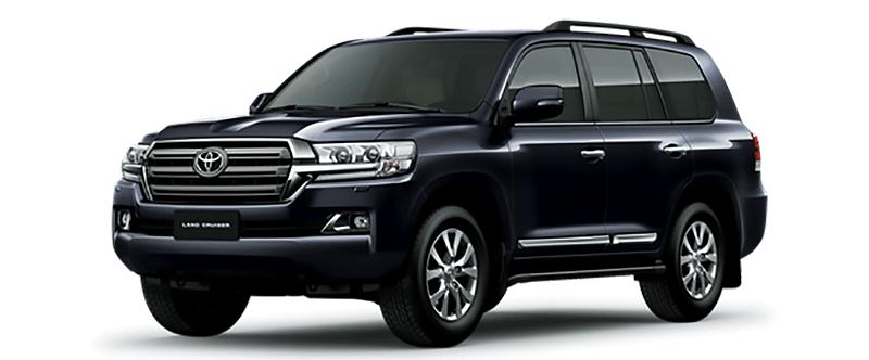 Toyota Land Cruiser Màu Xanh