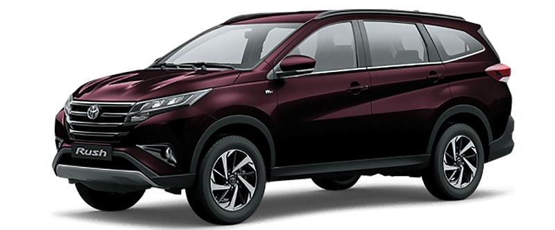 Toyota Rush Màu Đỏ Đậm