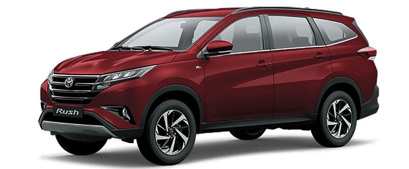 Toyota Rush Màu Đỏ