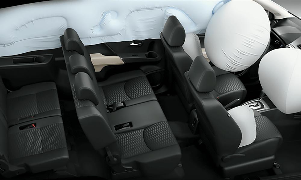 An toàn bị động trên Toyota Rush - Đại lý Toyota An Giang