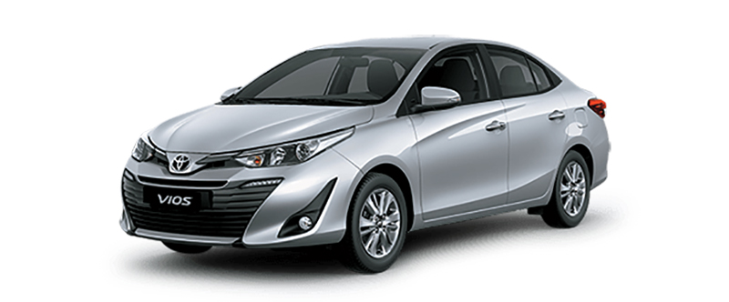 Toyota Vios Màu Bạc