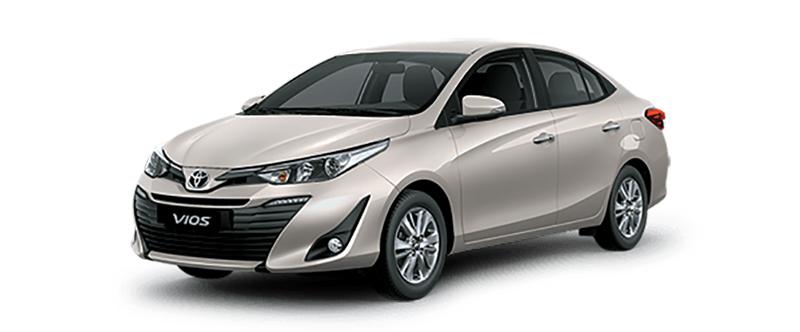 Toyota Vios Màu Be