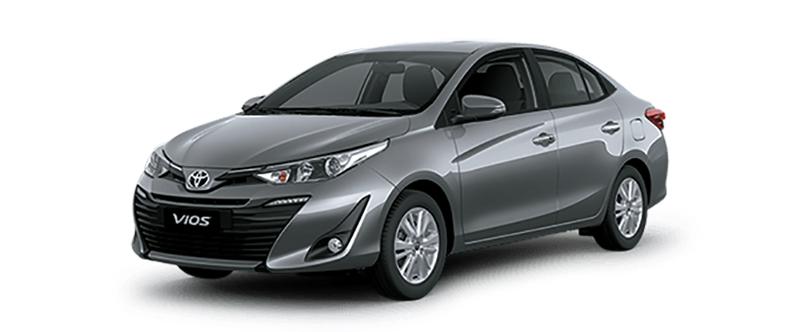 Toyota Vios Màu Xám