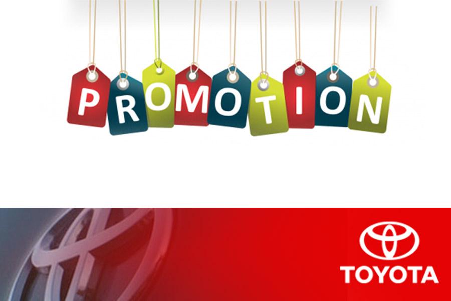 Chương trình khuyến mãi Toyota An Giang