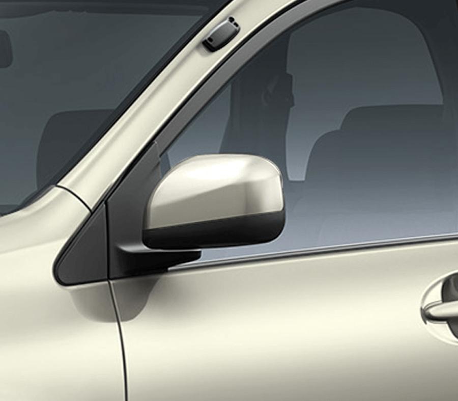 Gương chiếu hậu cùng màu thân xe có chức năng chỉnh điện