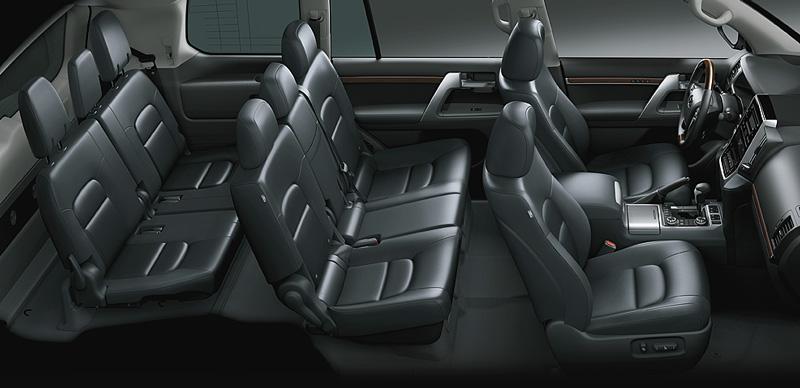 Nội thất Toyota Land Cruiser