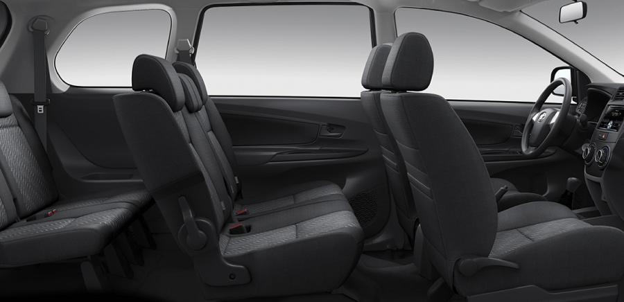Nội thất rộng rải & tiện nghi của Toyota Avanza