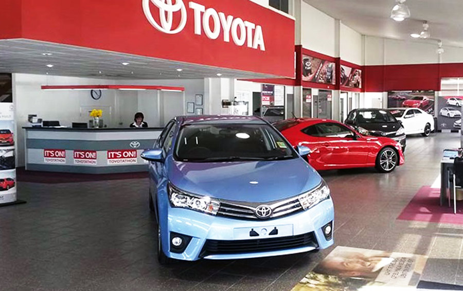 Showroom Toyota An Giang - Hình minh họa