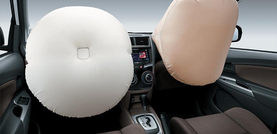 Túi khí người lái & hành khách phía trước