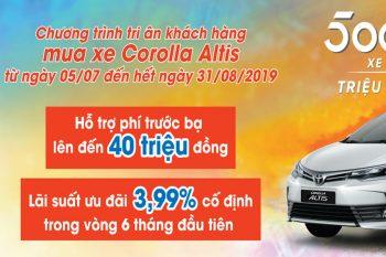 Khuyến mãi Corolla Altis