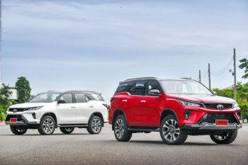 SUV 7 chỗ: Toyota Fortuner Legender 2021