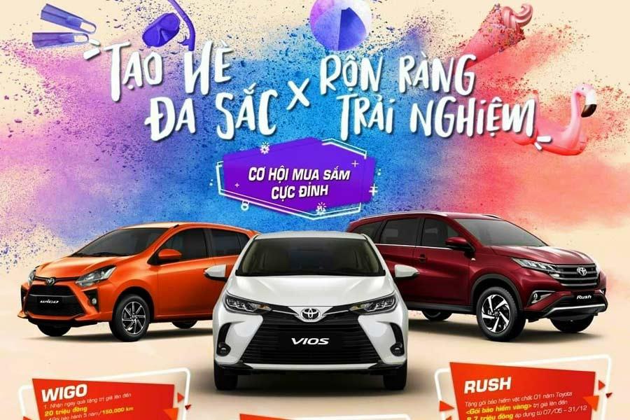 Toyota An Giang khuyến mãi Vios & Wigo 2021 Mới